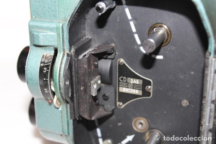 Antigüedades: ANTIGUA CAMARA 8 MM BAUER 88 B - Foto 15 - 197253716