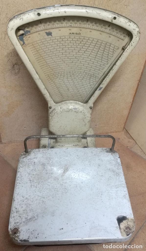 Antigüedades: BÁSCULA ARISO fuerza 5kg - Foto 2 - 197255172