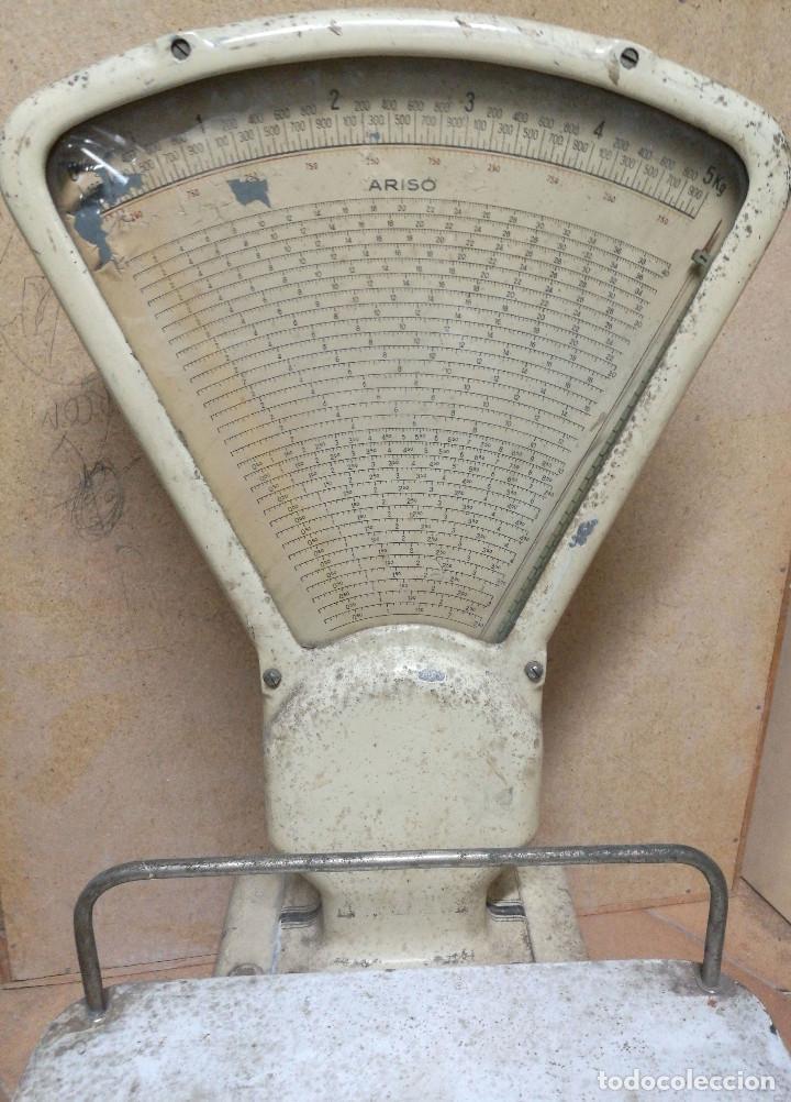 Antigüedades: BÁSCULA ARISO fuerza 5kg - Foto 3 - 197255172