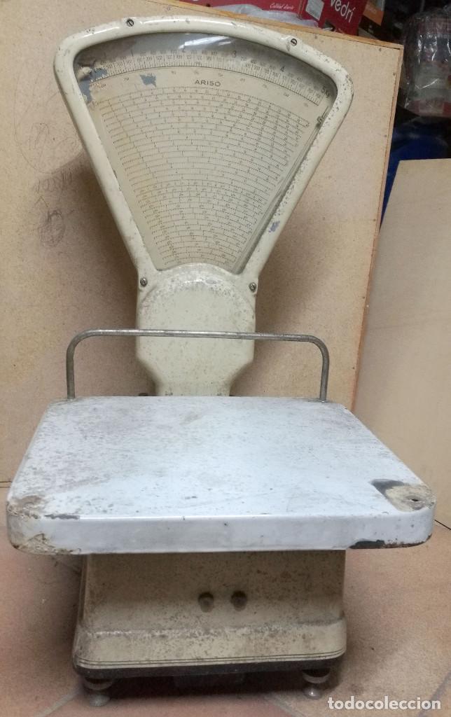 Antigüedades: BÁSCULA ARISO fuerza 5kg - Foto 4 - 197255172