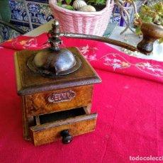 Antigüedades: MOLINILLO DE CAFÉ ANTIGUO ELMA. Lote 197296291