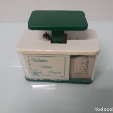 Antigüedades: BALANZA - PESO - PUBLICIDAD DE YVES ROCHER - BALANCE FORME BEAUTÉ - 1 KG. - VINTAGE. Lote 197330476