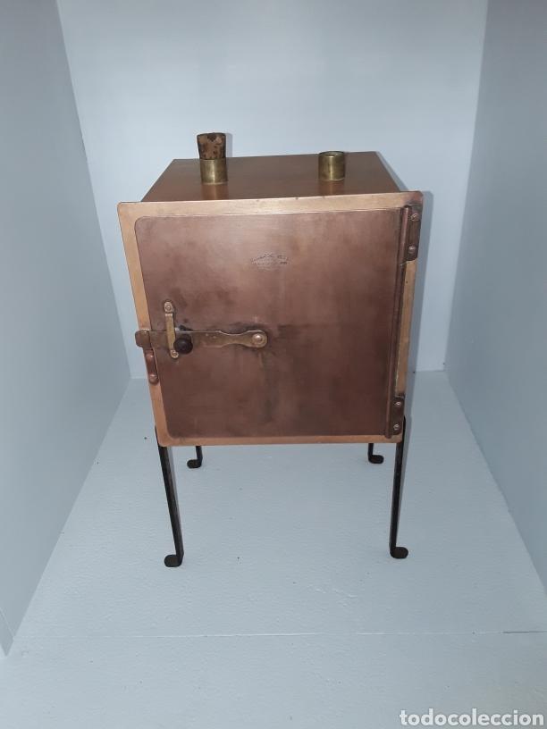 Antigüedades: Antiguo horno de secado farmacéutico industrias Barcelona, s.a. antigua casa harmman circa 1900 - Foto 3 - 197379907