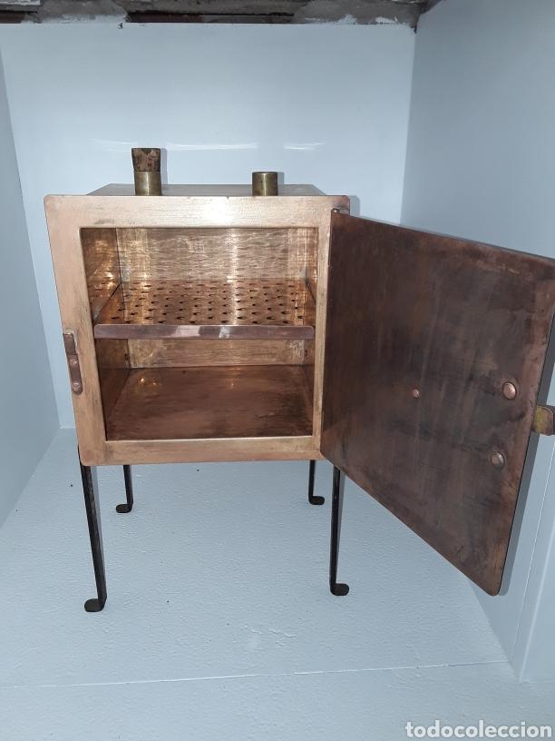 Antigüedades: Antiguo horno de secado farmacéutico industrias Barcelona, s.a. antigua casa harmman circa 1900 - Foto 4 - 197379907