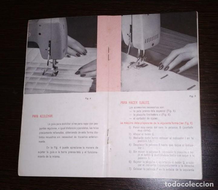 Antigüedades: INSTRUCCIONES PARA MAQUINA DE COSER WERTHEIM. BZ. 20 PAGINAS. - Foto 2 - 197388942