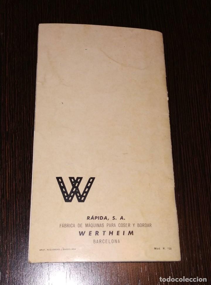 Antigüedades: INSTRUCCIONES PARA MAQUINA DE COSER WERTHEIM. BZ. 20 PAGINAS. - Foto 3 - 197388942