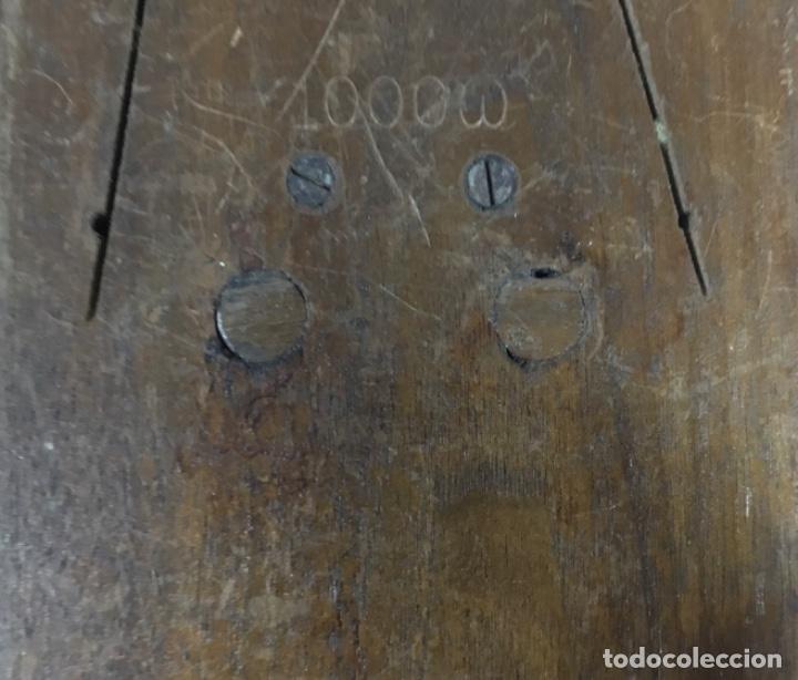 Teléfonos: Antiguo y excelente timbre madera y campanas, uso telefónico, original, de la casa sueca LM Ericsson - Foto 7 - 197401993