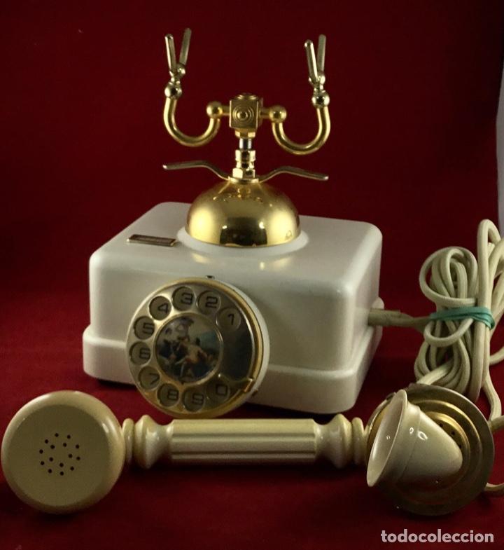 Teléfonos: Antiguo teléfono Estilo, de Elasa, para la CTNE, Telefónica. - Foto 2 - 197404420