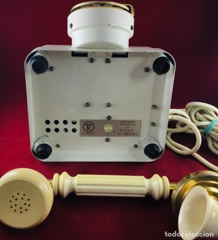 Teléfonos: Antiguo teléfono Estilo, de Elasa, para la CTNE, Telefónica. - Foto 3 - 197404420