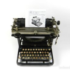 Antigüedades: MAQUINA DE ESCRIBIR JAPY Nº3 AÑO 1921 CARRO EXTRAIBLE TYPEWRITER RECHENMASCHINE. Lote 197447162