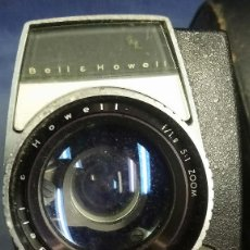 Antigüedades: FILMADORA SUPER 8 BELL & HOWELL AUTOLOAD MODEL 8432. MADE IN USA. Lote 197451540