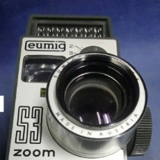 Antigüedades: FILMADORA 8MM. EUMIG S3 ZOOM. MADE IN AUSTRIA. Lote 197452828