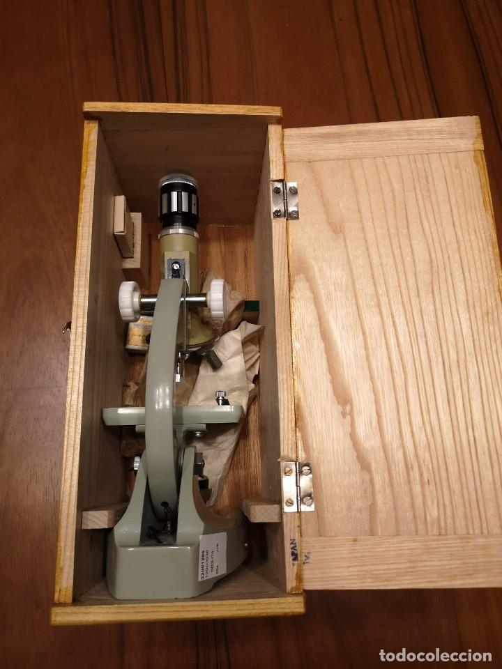 Antigüedades: Microscopio HOC-ZOMM-50-900 - Foto 3 - 197480533