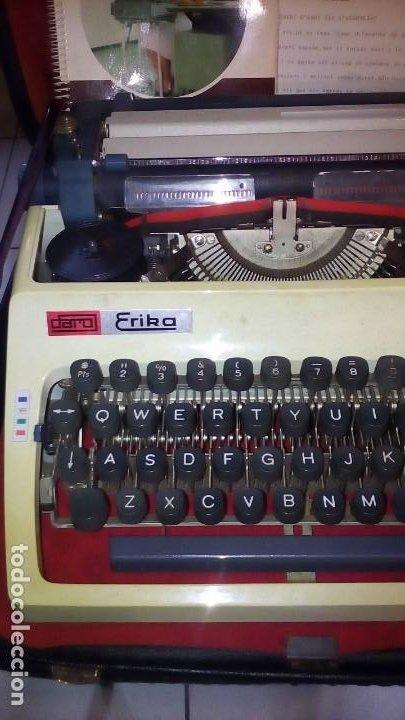 Antigüedades: MAQUINA DE ESCRIBIR - DARO ERIKA . - Foto 2 - 197503320