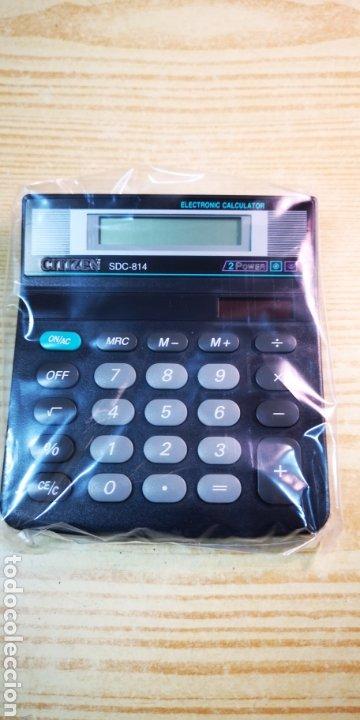 Antigüedades: Calculadora solar Citizen SDC-814 a estrenar - Foto 2 - 197552220