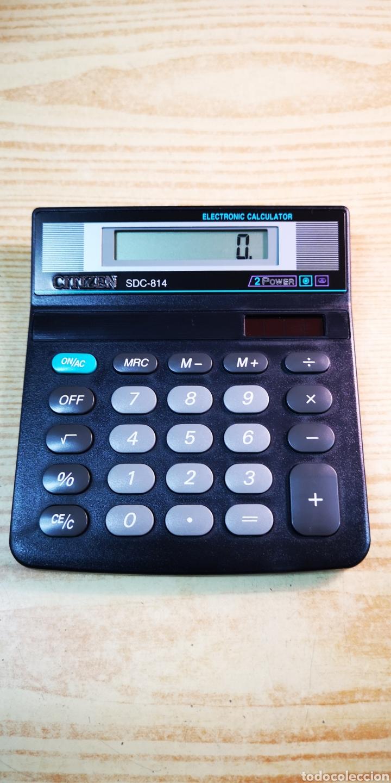 CALCULADORA SOLAR CITIZEN SDC-814 A ESTRENAR (Antigüedades - Técnicas - Aparatos de Cálculo - Calculadoras Antiguas)
