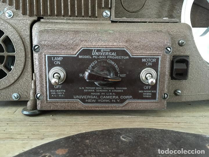 Antigüedades: PROYECTOR MODEL PC-500 FUNCIONANDO A 125V. CON MALETÍN ORIGINAL Y EN MUY BUEN ESTADO - Foto 2 - 197579115