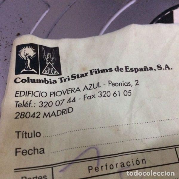 Antigüedades: Bobina de películas antiguas de cine de MADRID FILMS con factura original de COLUMBIA PICTURES - Foto 2 - 102802082