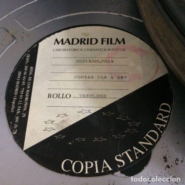 Antigüedades: Bobina de películas antiguas de cine de MADRID FILMS con factura original de COLUMBIA PICTURES - Foto 4 - 102802082