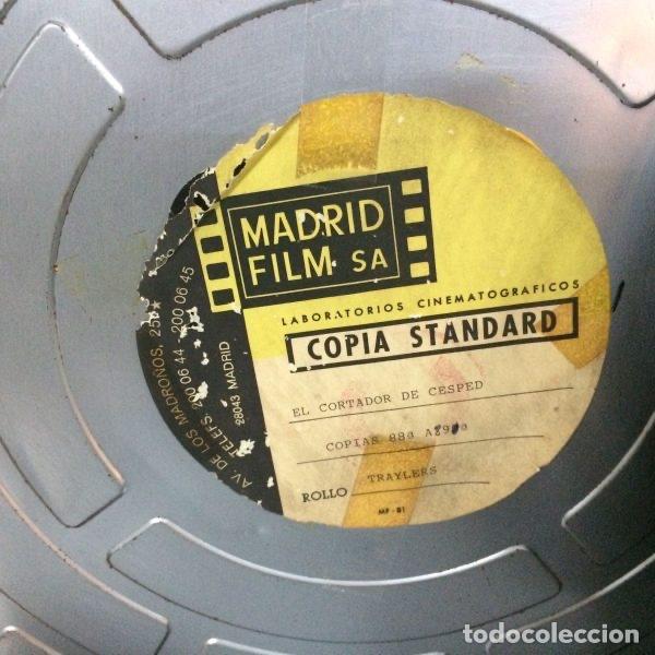 Antigüedades: Bobina de películas antiguas de cine de MADRID FILMS con factura original de COLUMBIA PICTURES - Foto 5 - 102802082
