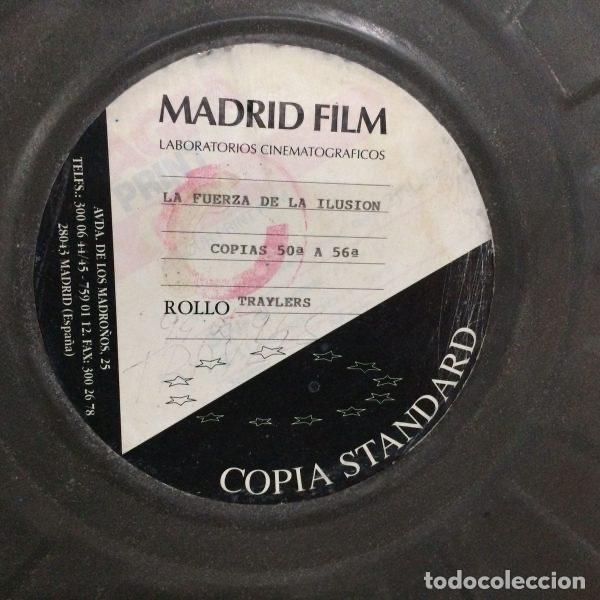 Antigüedades: Bobina de películas antiguas de cine de MADRID FILMS con factura original de COLUMBIA PICTURES - Foto 6 - 102802082