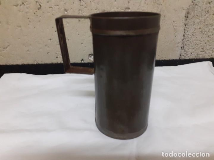 MEDIDA 1/4 L HIJOS DE G. BERTRAN (Antigüedades - Técnicas - Medidas de Peso Antiguas - Otras)