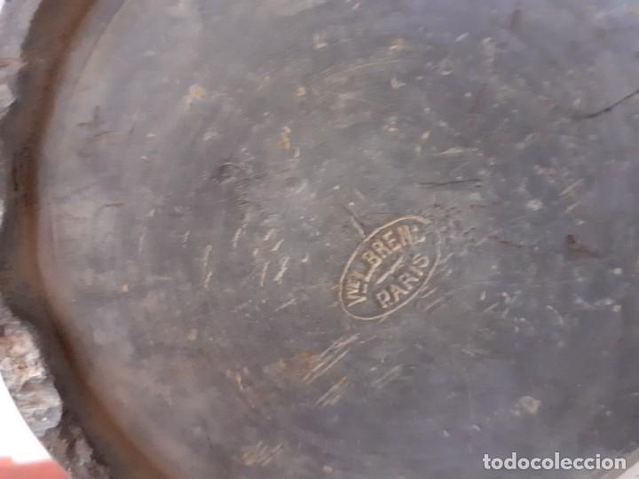 Antigüedades: Medida 1 litro estaño macizo - Foto 6 - 197809707