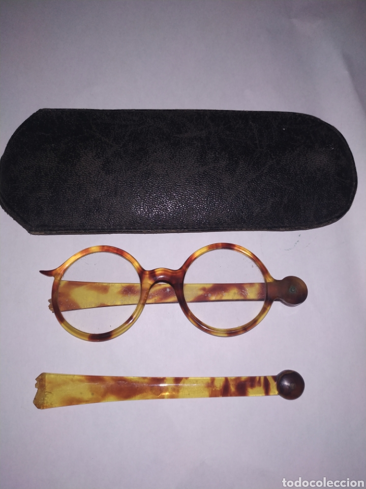 Antigüedades: Impertinentes carey con funda original - Foto 2 - 197942770