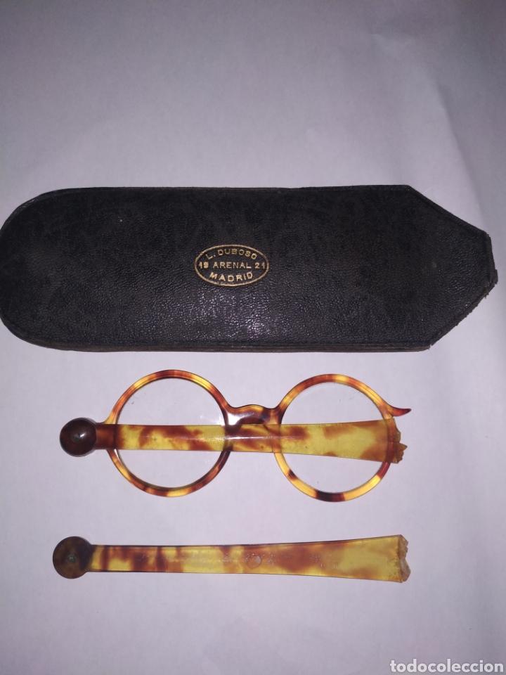 IMPERTINENTES CAREY CON FUNDA ORIGINAL (Antigüedades - Técnicas - Instrumentos Ópticos - Gafas Antiguas)