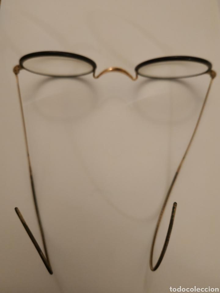 Antigüedades: Gafas graduadas con funda original - Foto 2 - 197943596
