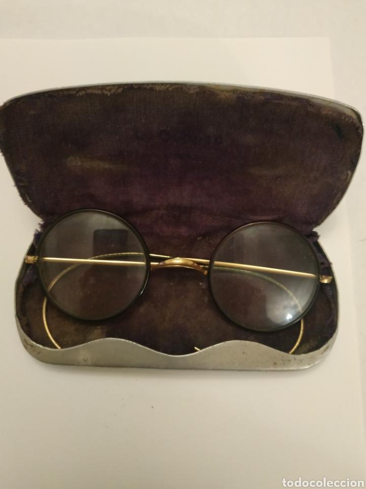 Antigüedades: Gafas graduadas con funda original - Foto 4 - 197943596