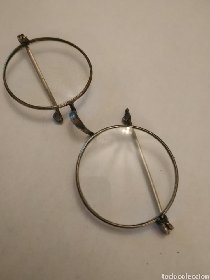 Antigüedades: Gafas graduadas con funda original - Foto 3 - 197944161