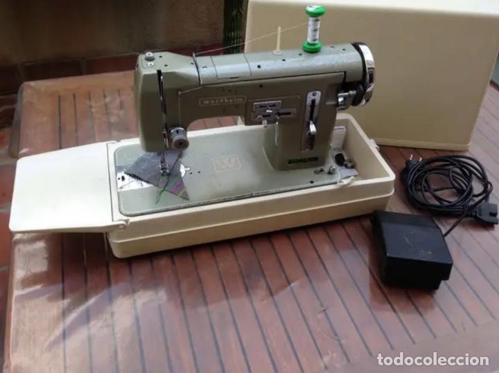 Antigüedades: Maquina de coser Wertheim - Foto 3 - 198082627