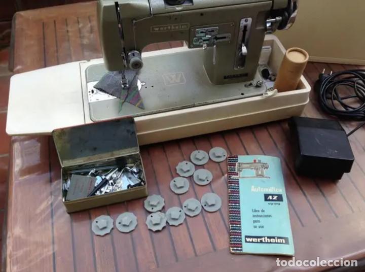 Antigüedades: Maquina de coser Wertheim - Foto 4 - 198082627
