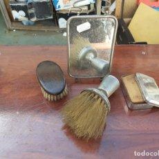 Antigüedades: LOTE DE PIEZAS DE BARBERIA. Lote 198181856