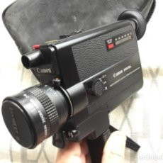 Antigüedades: CAMARA CANON 310 XL. VER FOTOS. PERFECTO ESTADO. NUEVA. SUPER 8 MM.. Lote 198213040