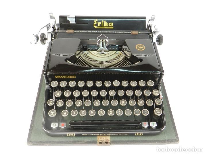 MAQUINA DE ESCRIBIR ERIKA MOD.M AÑO 1935 TYPEWRITER SCHREIBMASCHINE (Antigüedades - Técnicas - Máquinas de Escribir Antiguas - Erika)