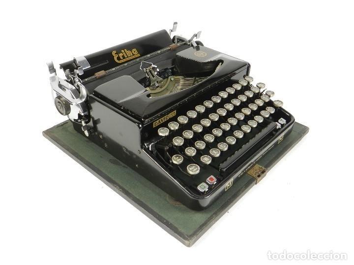 Antigüedades: MAQUINA DE ESCRIBIR ERIKA Mod.M AÑO 1935 TYPEWRITER SCHREIBMASCHINE - Foto 2 - 198353987
