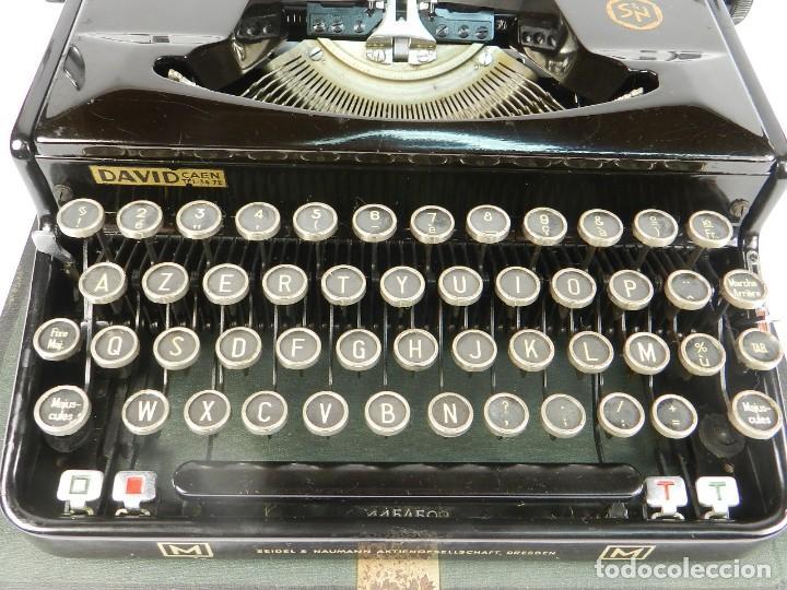 Antigüedades: MAQUINA DE ESCRIBIR ERIKA Mod.M AÑO 1935 TYPEWRITER SCHREIBMASCHINE - Foto 6 - 198353987