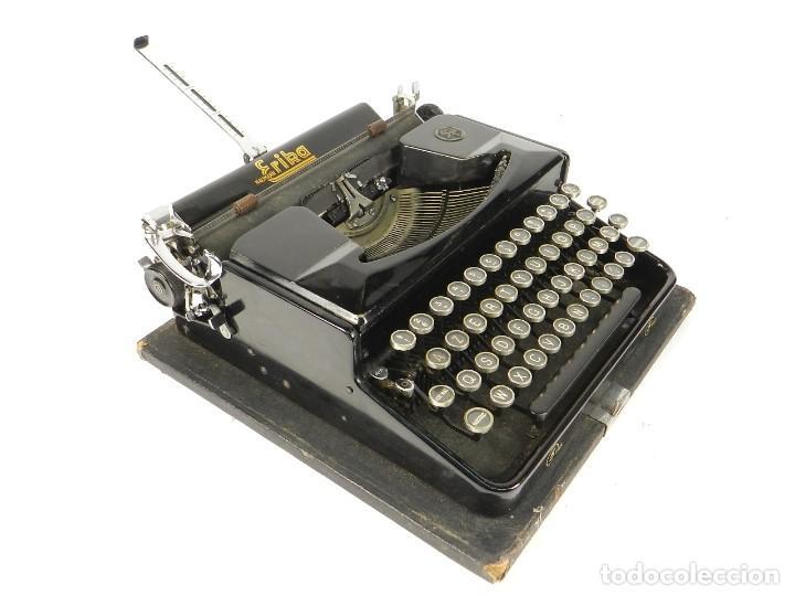 MAQUINA DE ESCRIBIR ERIKA Nº5 AÑO 1940 TYPEWRITER SCHREIBMASCHINE (Antigüedades - Técnicas - Máquinas de Escribir Antiguas - Erika)