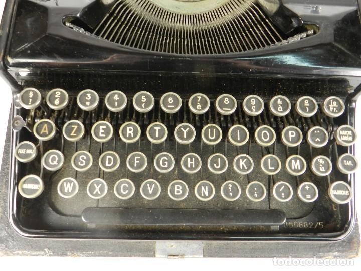 Antigüedades: MAQUINA DE ESCRIBIR ERIKA Nº5 AÑO 1940 TYPEWRITER SCHREIBMASCHINE - Foto 5 - 198356658