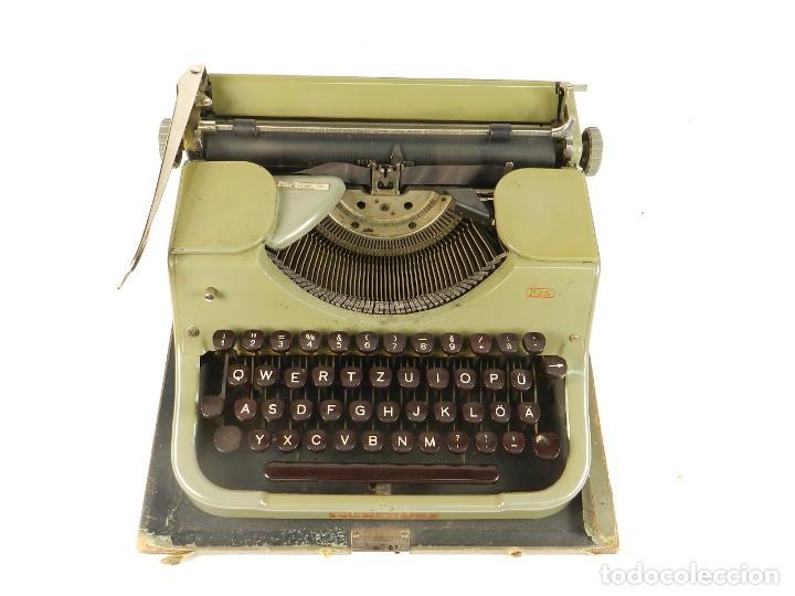 MAQUINA DE ESCRIBIR MERCEDES K45 AÑO 1950 TYPEWRITER SCHREIBMASCHINE A ECRIRE (Antigüedades - Técnicas - Máquinas de Escribir Antiguas - Mercedes)