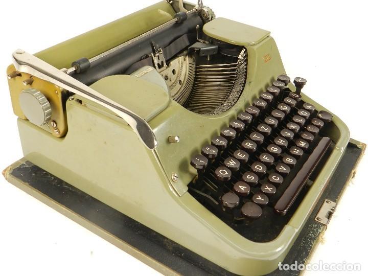 Antigüedades: MAQUINA DE ESCRIBIR MERCEDES K45 AÑO 1950 TYPEWRITER SCHREIBMASCHINE A ECRIRE - Foto 3 - 198365803