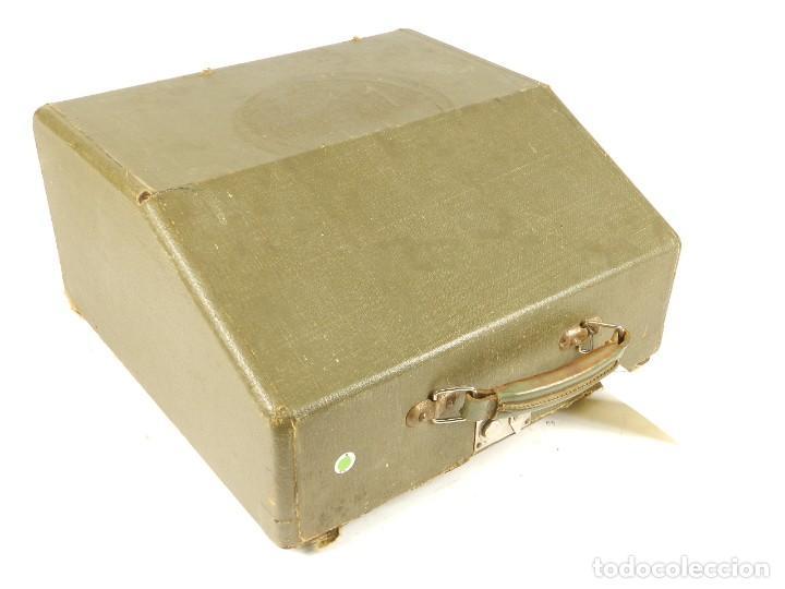 Antigüedades: MAQUINA DE ESCRIBIR MERCEDES K45 AÑO 1950 TYPEWRITER SCHREIBMASCHINE A ECRIRE - Foto 9 - 198365803