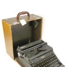 Antigüedades: MAQUINA DE ESCRIBIR HERMES 2000 DE 1946 TECLADO ESPAÑOL TYPEWRITER SCHREIBMASCHINE MACHINE ECRIRE. Lote 198398560