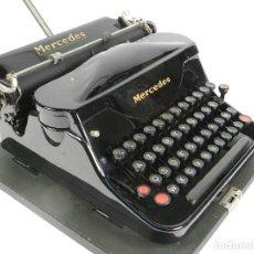 Antigüedades: MAQUINA DE ESCRIBIR MERCEDES SUPERBA AÑO 1930 TYPEWRITER SCHREIBMASCHINE. Lote 198400045