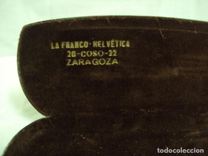 Antigüedades: IMPERTINENTES DE CAREY DE GRAN CALIDAD Y EN FUNDA ORIGINAL - Foto 5 - 198404095