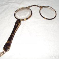 Antigüedades: IMPERTINENTES DE CAREY DE GRAN CALIDAD Y EN FUNDA ORIGINAL. Lote 198404095