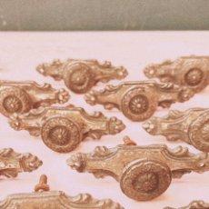 Oggetti Antichi: POMOS TIRADORES ORIGINALES ANTIGUOS (PRECIO 1 UNIDAD) ANTIQUE UNIQUE. Lote 148580602