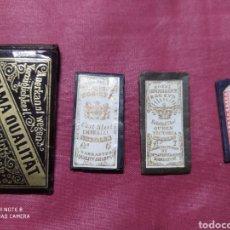 Antigüedades: ALFILERES ANTIGUOS EN SU ESTUCHE ORIGINAL.. Lote 198553275